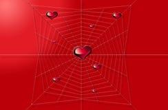 Coeur et Web Photo libre de droits