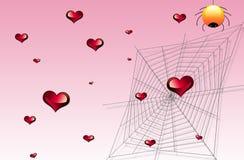 Coeur et Web Images libres de droits