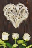 Coeur fait à partir des cannettes Image libre de droits