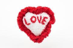 Coeur fait main Photographie stock libre de droits