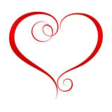Coeur fleuri 2 Photo libre de droits