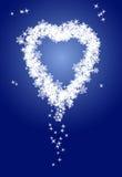 Coeur froid Images libres de droits