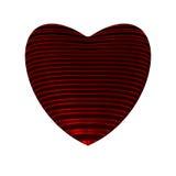 Coeur futuriste Photographie stock libre de droits