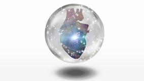 Coeur galactique illustration de vecteur