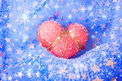 Coeur gelé Image stock