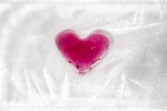 Coeur gelé Images stock