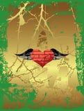 Coeur grunge. Photo stock