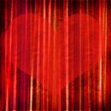 Coeur grunge de conception Image libre de droits