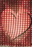 Coeur grunge de fond Image libre de droits