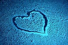 Coeur humide Image stock