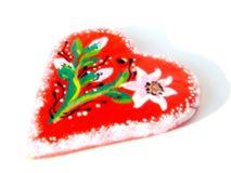 Coeur illustré de valentine Image libre de droits