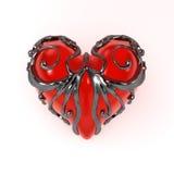 Coeur inclus, avant illustration stock