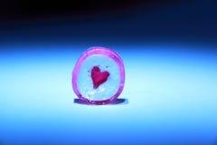 Coeur isolé Photo libre de droits