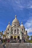 coeur katedralny sacre fotografia royalty free