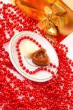 Coeur la Saint-Valentin Images libres de droits