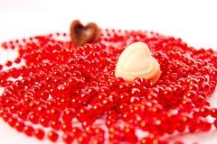 Coeur la Saint-Valentin Photos libres de droits