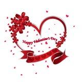Coeur le jour de Valentine Images libres de droits