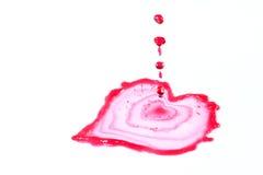 Coeur liquide Image stock