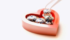 Coeur mécanique Image libre de droits