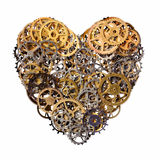 Coeur mécanique photos libres de droits