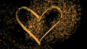 Coeur magique - HD, alpha Images libres de droits