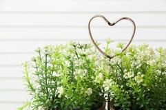 Coeur minable en métal Image libre de droits
