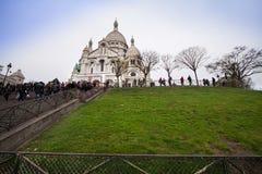coeur montmartre Παρίσι βασιλικών sacre Στοκ Εικόνα