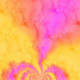 Coeur orageux Image libre de droits