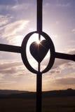 Coeur paisible Photos libres de droits