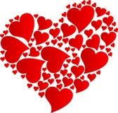 Coeur par coeurs illustration stock