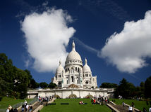 coeur Paris sacre Obrazy Stock