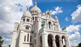 coeur Paris sacre Fotografia Royalty Free