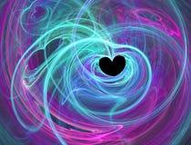 Coeur passionné Photos libres de droits