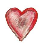 coeur peint symbole de l 39 amour photo stock image du peint affectueusement 16965712. Black Bedroom Furniture Sets. Home Design Ideas