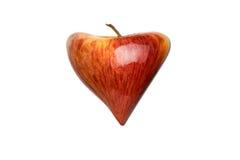 Coeur-pomme Photographie stock libre de droits