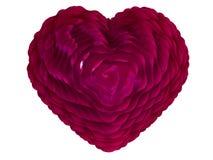 Coeur pour la carte de Valentine Photo libre de droits