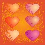 Coeur pour la conception Photo stock
