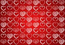 Coeur pour le fond de valentines Photo stock