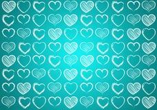 Coeur pour le fond de valentines Photos libres de droits