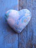 Coeur pourpré Image stock