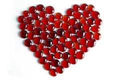 Coeur précieux Image stock