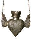 Coeur religieux de lampe Images stock