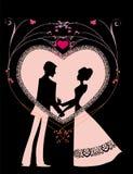 Coeur romantique Images stock