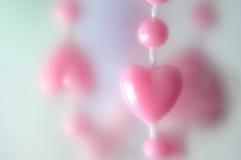 Coeur rose image stock
