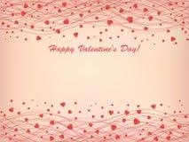 Coeur rose Photographie stock libre de droits