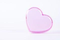Coeur rose Photos libres de droits