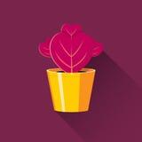 Coeur rose illustration stock