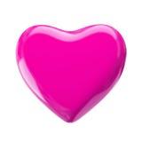 Coeur rose d'amour Images libres de droits