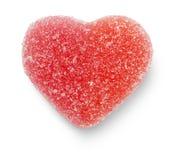 Coeur rose de sucrerie Photos libres de droits