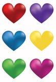 Coeur rouge Illustration de Vecteur